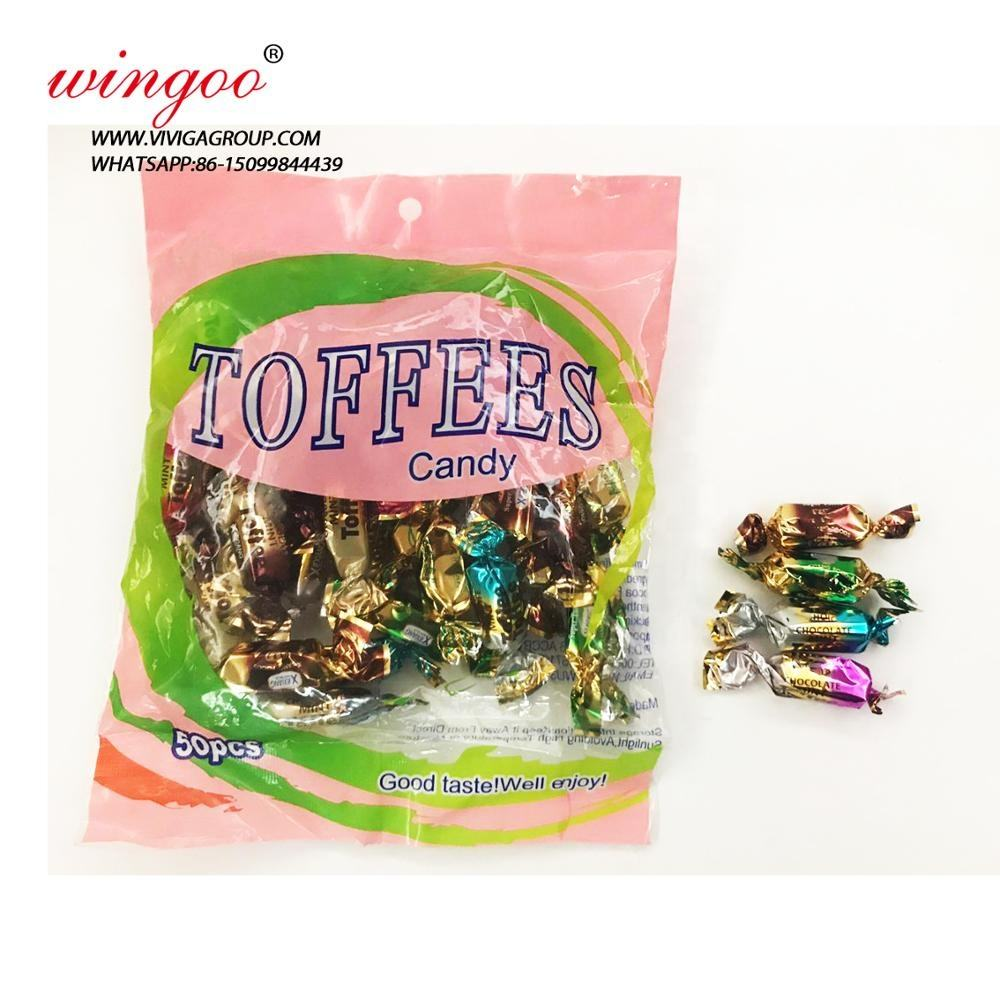 Wholesale super soft chewy toffee Candy Taffy
