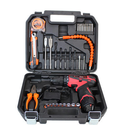 wholesale outdoor 35 pcs multifunction garden tools set with tool box