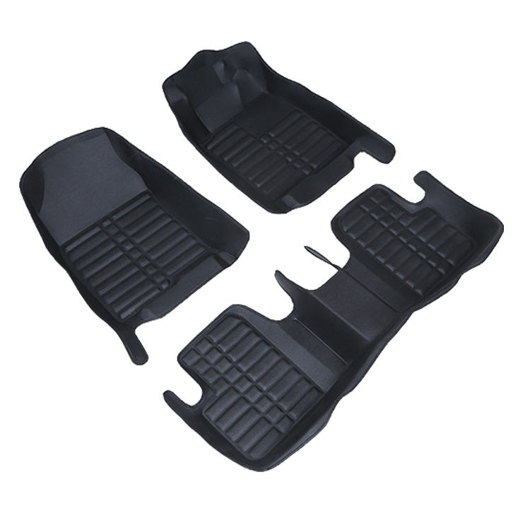 Hot Pressed Pvc Leather 5d Car Mat 3d Car Floor Mats Hight Quality Special Car Mats For Right Side Drive Honda City