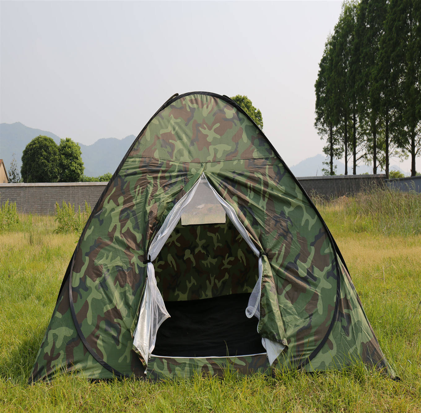 Instant Tent, Waterproof Camping Tent, Camouflage Tent With Window