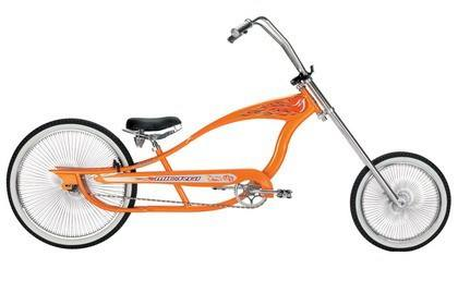 chopper bike style beach cruiser bicycle
