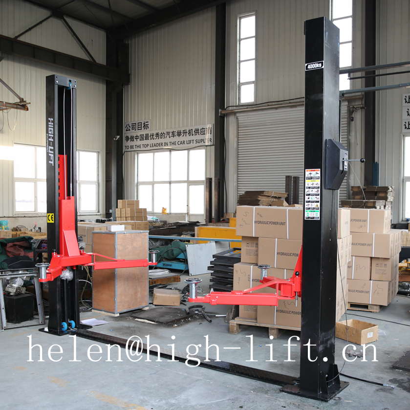 double s profile column 4.2T hydraulic 2 post car lift