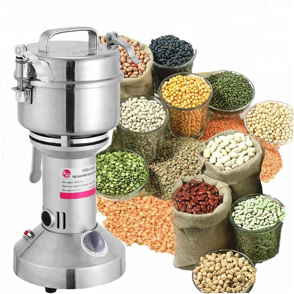 150g High Speed Powder Machine Herb Grain Grinder Flour Mill