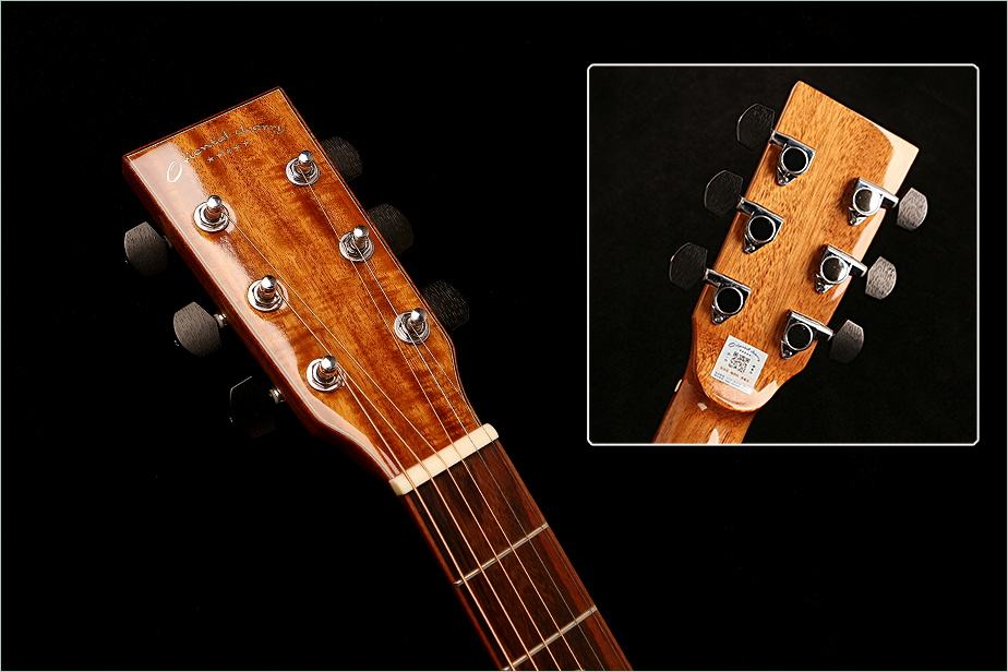 Oriental Cherry OEM China Guitar Factory Solid Wood Acacia Back Jumbo Acoustic Guitar