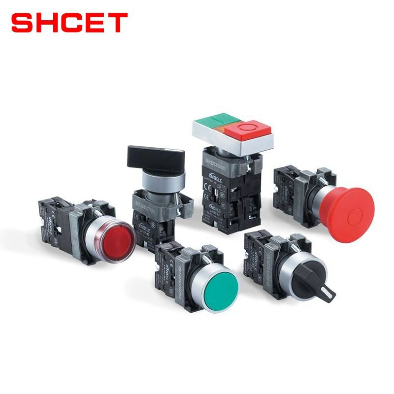 Multiple Types Low Voltage Emergency Push Button Switch Supplier