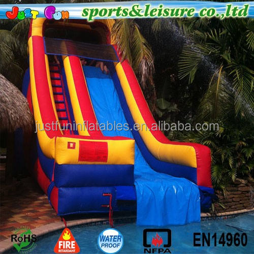 customized inflatable pool slides for inground pools, slides for swimming pool