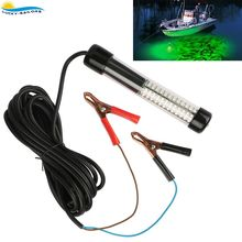 12V LED Lure Bait Finder Night Fishing Finder Crappie Shad Boat LED Submersible Underwater Light