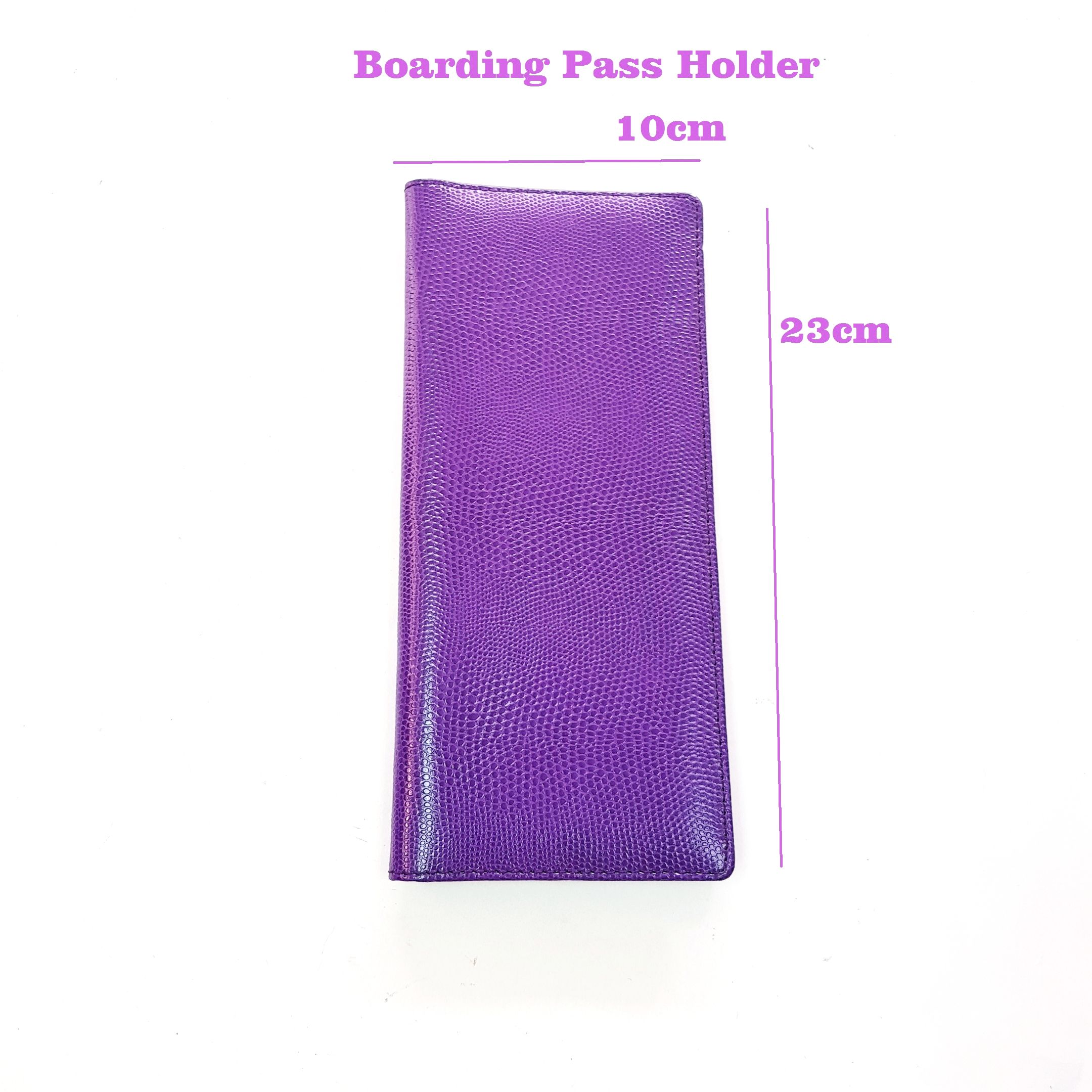 Passport [ Pass Holder ] Customized Design Pu Leather Boarding Pass Holder