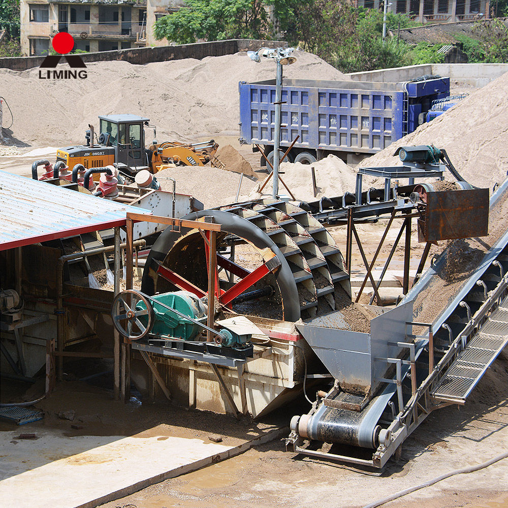 Large capacity sand washing equipment for sale