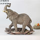 hot sale wholesale resin large elephant statues, Realistic animal resin garden statue