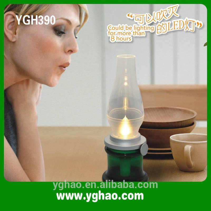 الكاز العتيقة مصابيح للمنزل، مصباح led ygh390 haptime ضربة
