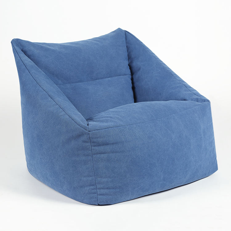 Serenity Blue Rural Style Bean Bags Indoor Chair/Backrest Beanbag