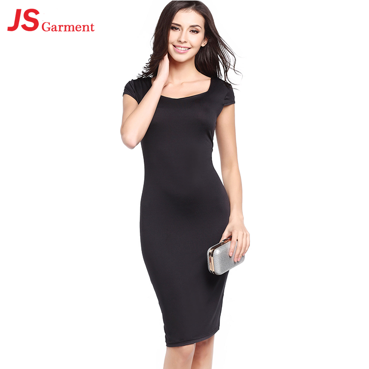 20729 One Piece Plus Size Women Casual Dress Sexy Xxl Black For Daily Wear