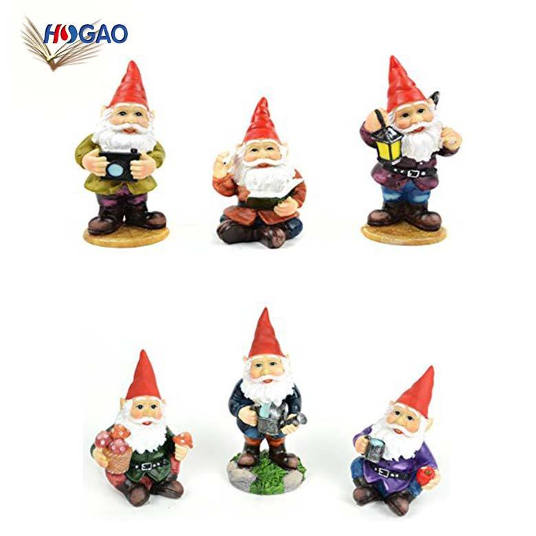 China Leverancier Fairy Garden Set Zeven Dwergen Decoraties Groothandel Tuin Gnomes Mini