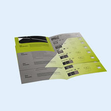 Good quality custom print instruction flyers sample promotional flyer