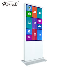 custom shape and size lcd advertising screen with digital interactive signage board