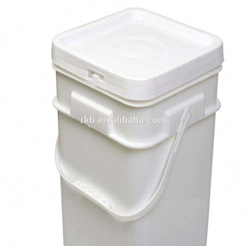 RTCO plastic pail, plastic barrel with handle