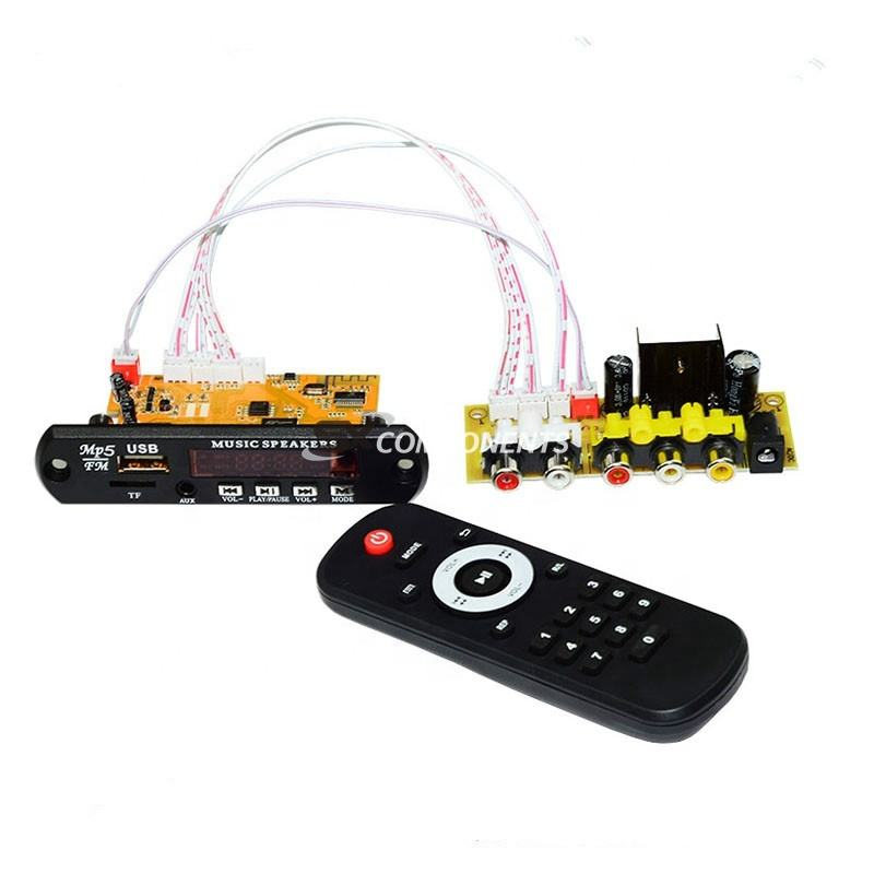 HD DTS CVBS USB RCA Audio Video Module For DIY TV BOX eBook MTV Controller Board Bluetooth TF RF Radio MP3 APE Receiver Board