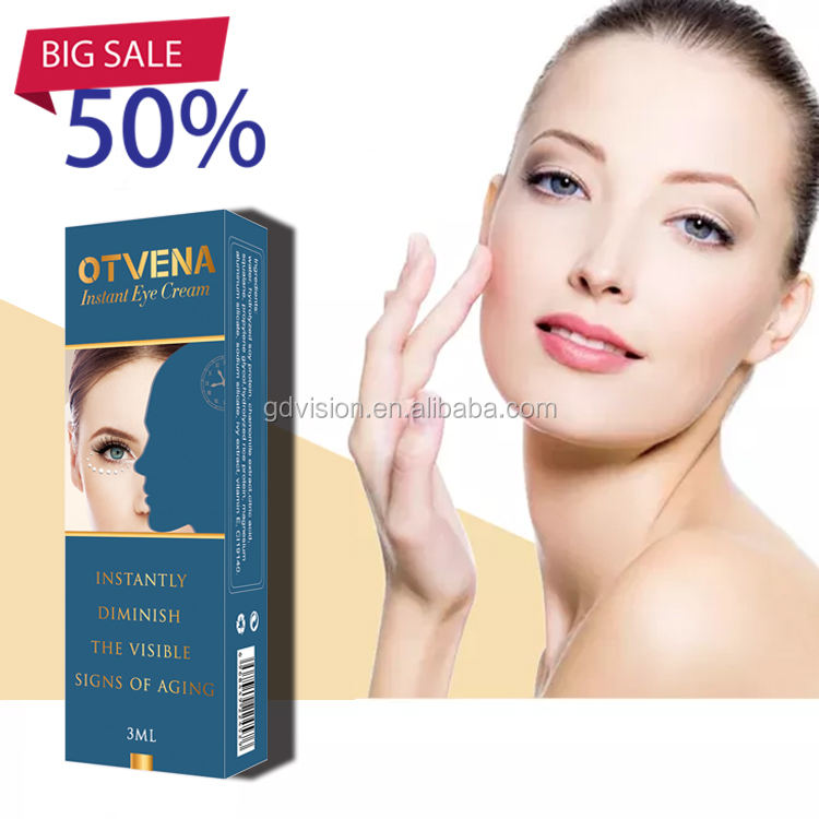 Private label instant wrinkle remover best eye gel