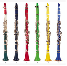 clarinet,colorful clarinet,ABS color clarinet,wind musical instruments