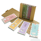 Recycled Hard Cover Notepad Kraft Paper Cover Sticky Notes Custom Note