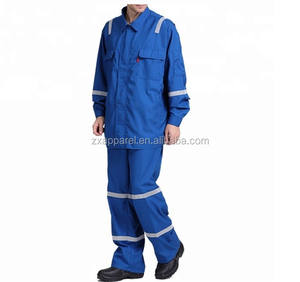 Men's Mining Safety Work Wear Conti Suit Mechanic Two Piece Overalls Oil Refinery Hi Vis Work Wear