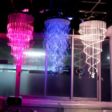 LED Fiber Optic Chandelier Lighting