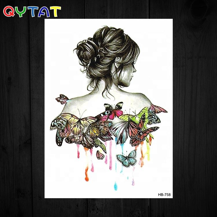 QYTAT High Quality Long Lasting Ink Body Temporary Tattoo Products