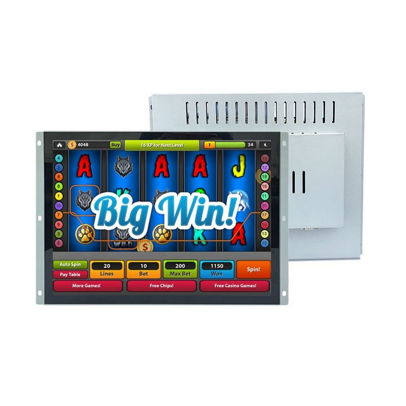Arcade Game 15 17 19 Inch Lift Cheap Open Frame Touch Screen Industrial TFT LCD Display Monitor For Lift