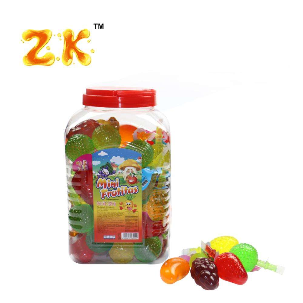 35g Mixed Mini fruit shape jelly candy