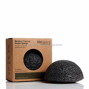 Wholesale 100% natural organic facial and shower Japan konjac sponge for baby