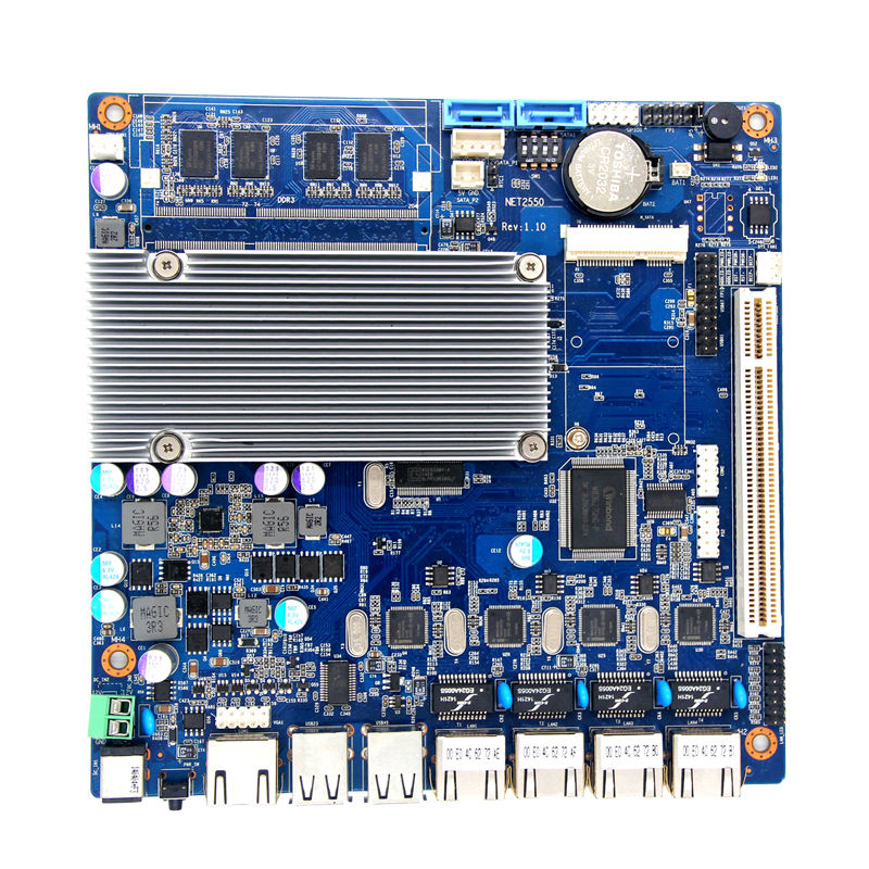 NET2550 <span class=keywords><strong>Atom</strong></span> Dual Core Prozessor D2550 <span class=keywords><strong>Mini</strong></span> <span class=keywords><strong>ITX</strong></span> 4 LAN Motherboard