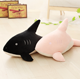 customizable wholesale lovely soft plush shark pillow toy cotton material of plush pillow toy shark stuffed plush shark toy