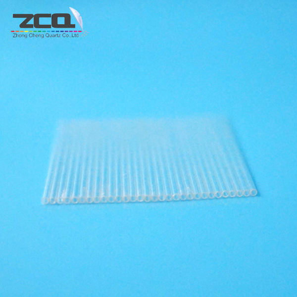 Wholesale Heat Resistant Clear Quartz Glass Capillary Pipes