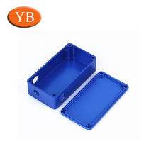 customized cnc aluminum anodise small aluminum copper box 1590B box for vapor device