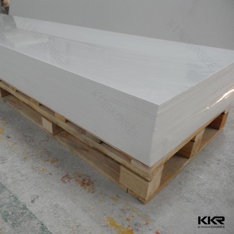 KKR ücretsiz örnekleri akrilik katı yüzey levhalar/pmma katı yüzey