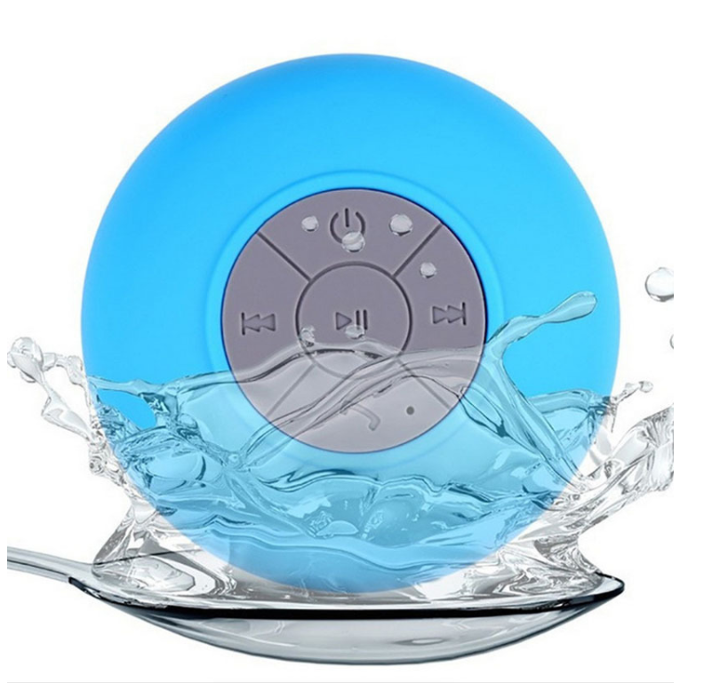 Christmas gift speaker waterproof suction cup bathroom bluetooth professional audio wireless speaker