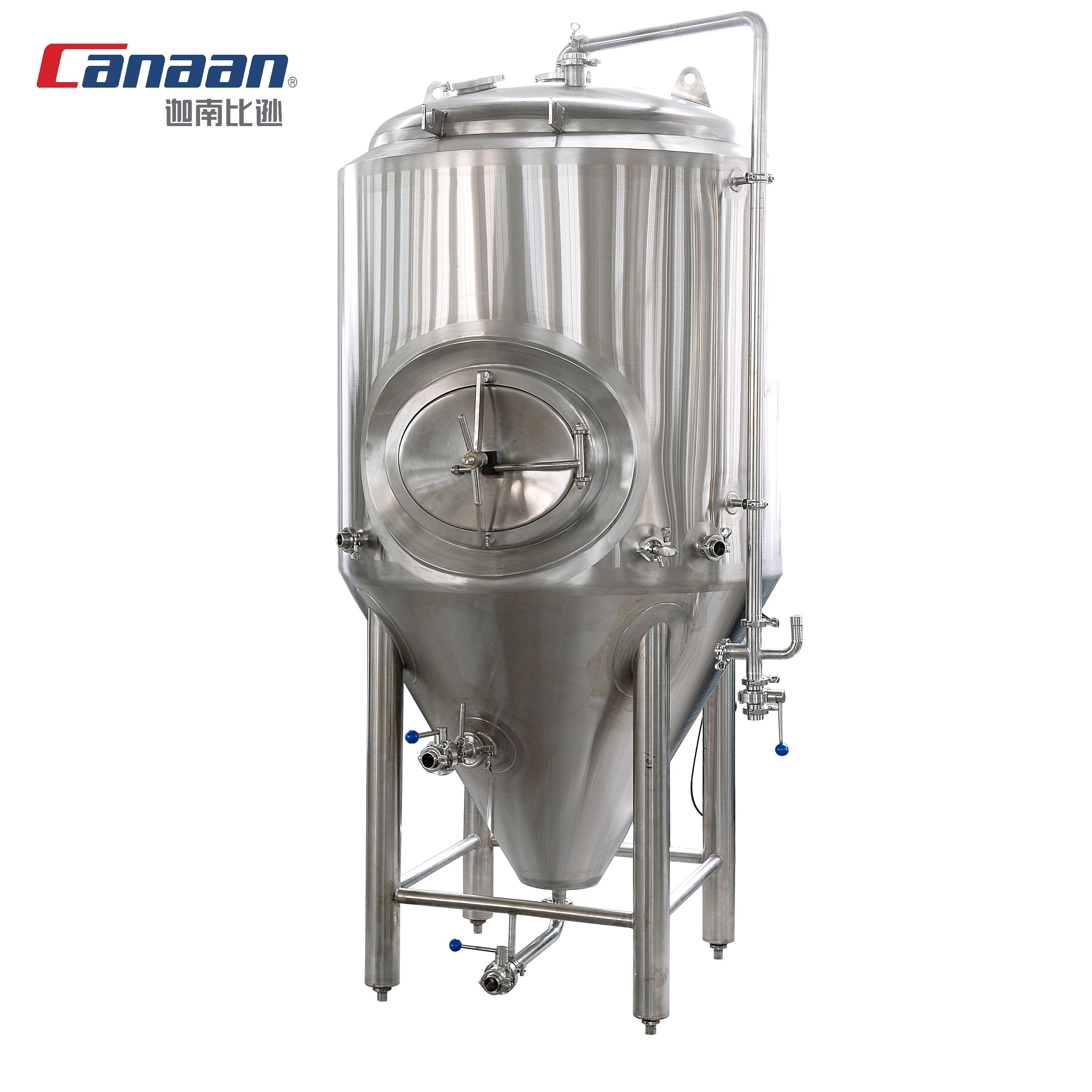 stainless steel conical fermenter micro beer brewing equipment