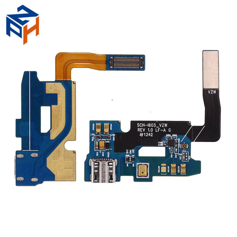 Repair Parts USB Charging Port Connector For Samsung Galaxy Note 2 SCH-I605 Dock Charger Flex Cable
