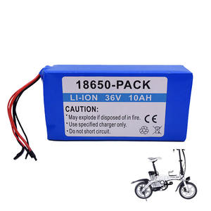 Fabriek Oem Ebike 18650 Lithium Ion 24 V 36 V 48 V E-Bike 10S4P 10Ah Li-Ion Batterij voor 36 V Rear Rack