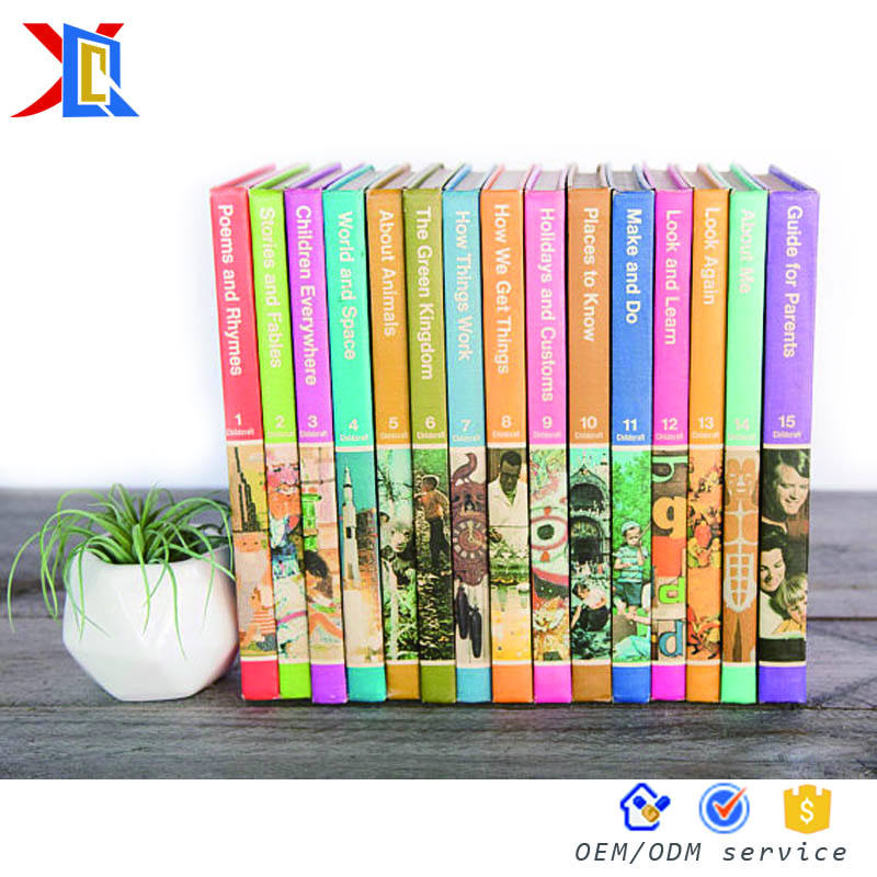 Custom High Quality Preschool Story Children der Adventure Stories Book Printing Service