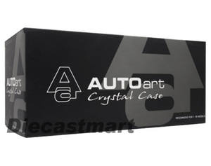 AUTOART CRYSTAL CLEAR ACRYLIC DISPLAY SHOWCASE FOR 1:18 1:24 DIECAST 90001