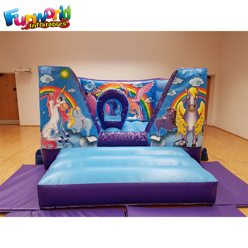 indoor mini bouncy castle mini bouncer inflatable jumping castle for sale