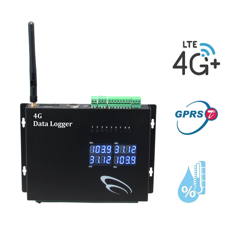 4G Ethernet Temperature Humidity Data Logger