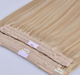 China supplier 8A best qualityBrazilian fish line halo hair blonde hair extension