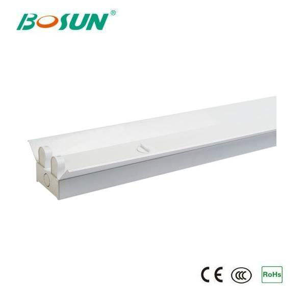 high quality 2x36w t8 g13 led tube double fluorescent lighting fixture