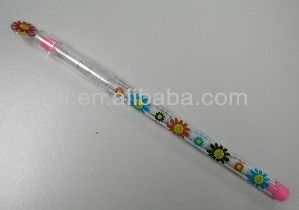 Sedex Smeta 4 Pillar Audit factory EN71 SA8000 heat transfer printing logo Non Sharpening Pencil