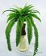 2016 artificial plant wall accessory artificial plastic ferns for garden landscaping