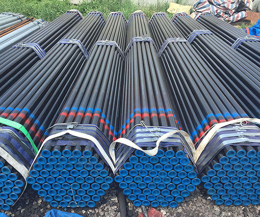 ASTM A 106/A53 Gr B 냉 압 연 black carbon steel seamless pipe