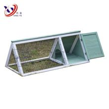 Small cheap  blue rabbit hutch bunny house bunny cage